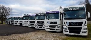 Najlepsza firma transportowa z dużą flotą